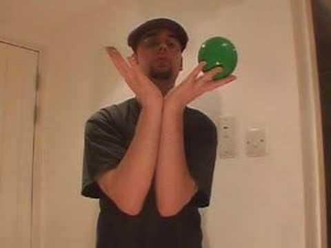 パーム トゥ パーム シングルボールコンタクトジャグリング