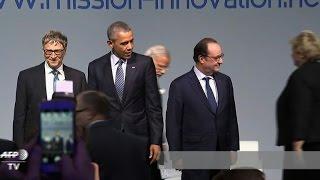 getlinkyoutube.com-COP21: Obama, Bill Gates put energy innovation forward