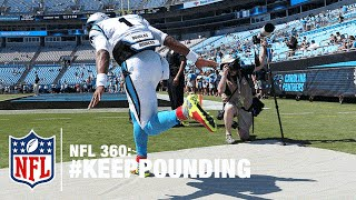 getlinkyoutube.com-Cam Newton & the Panthers Keep Pounding Through Adversity  | NFL 360