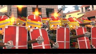 getlinkyoutube.com-Minecraft | Rome the Last Hope - Overrun (Minecraft Animation)
