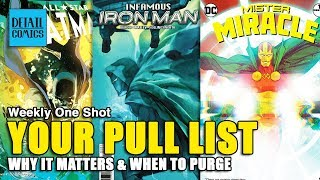 Comic Book Pull List: What It Is, Why It Matters & When To Cancel || Weekly One Shot