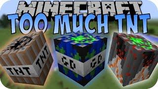 getlinkyoutube.com-Minecraft TOO MUCH TNT 1.8 UPDATE (Global Disaster TNT, Arrow TNT) [Deutsch]