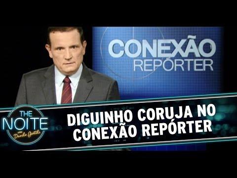 Roberto Cabrini revela quem é Diguinho Coruja