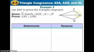 getlinkyoutube.com-4_5 Triangle Congruence: ASA, AAS, and HL