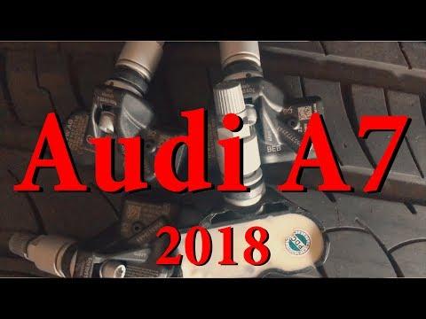 Датчики давления шин Audi A7 5Q0907275B Оригинал (4K)  c 2018 года выпуска