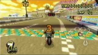 getlinkyoutube.com-Mario Kart Wii Speed Run - 1:06:25 Single Segment (1P VS mode - 150cc - Hard CPU)