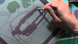 getlinkyoutube.com-Bridgestoneが開発中の電子ペーパー - AeroBee #DigInfo