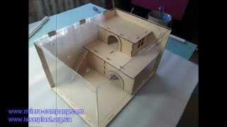 getlinkyoutube.com-Домик для грызунов (хомячков, крыс, морских свинок)
