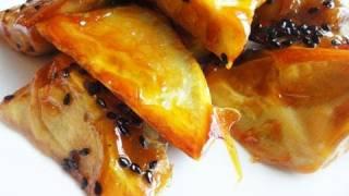 getlinkyoutube.com-Candied sweet potatoes (Matang: 마탕)