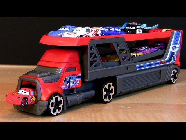 Hot Wheels Rapid-Fire Semi-Truck