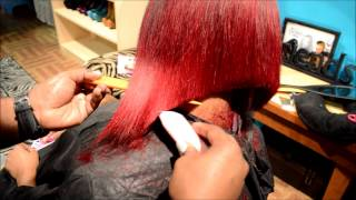 getlinkyoutube.com-Omeece Culmer Perfect Bob Cut inspired by Ms Willa World- FULL TUTORIAL