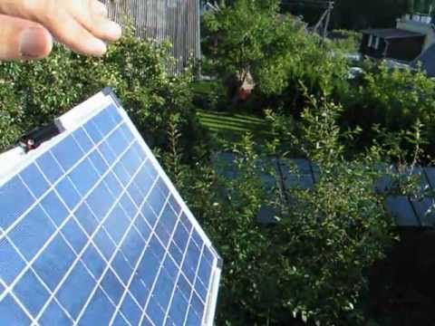 Solar tracker home made