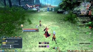 getlinkyoutube.com-Blade and Soul Open PVP lvl 45 Assassin