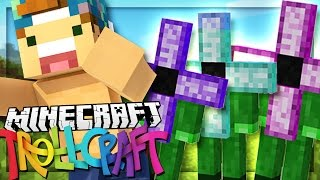 getlinkyoutube.com-IM BEING CHASED BY FLOWER-PEOPLE!? | Minecraft: TrollCraft