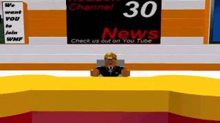 getlinkyoutube.com-ROBLOX Channel 30 News 1-18-11 (First Show)