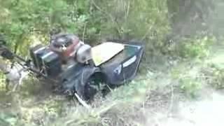 getlinkyoutube.com-ΚΑΤΑΣΤΡΟΦΕΑΣ ΑΥΤΟΚΙΝΟΥΜΕΝΟΣ ECOTECH  Forestry mower TRT 110 Swing