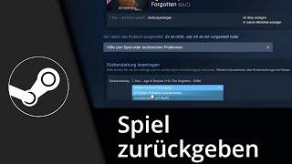 getlinkyoutube.com-Steam Tutorial   Spiel zurückgeben / Geld zurück // 2016 [Deutsch/HD]