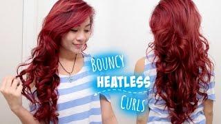 getlinkyoutube.com-Overnight Heatless Curls/Waves for Medium Long Hair l Beautiful Bouncy Voluminous Curls Tutorial