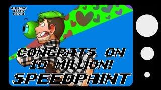 getlinkyoutube.com-Jacksepticeye Speedpaint: Congrats on 10 Million!