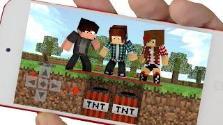 getlinkyoutube.com-Minecraft PE :  O TAPETE FALSO ( Minecraft Pocket Edition)