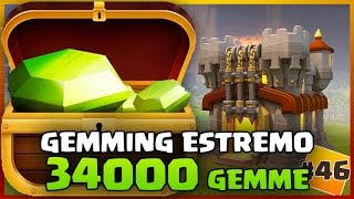 getlinkyoutube.com-CLASH OF CLANS : GEMMING ESTREMO! 34000 GEMME  #46