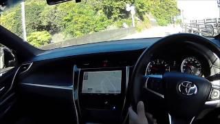 getlinkyoutube.com-トヨタ新型ハリアー試乗 上質で豪華な内装でした
