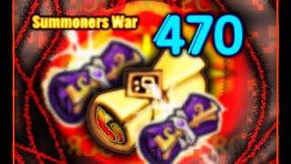 getlinkyoutube.com-BIGGEST* 470 Mystical Scrolls + 2 Legendary Scrolls ~ Summoners War