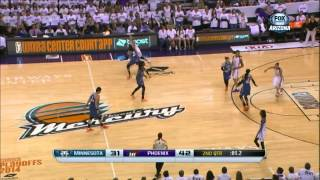 getlinkyoutube.com-WNBA Playoffs | 29.08.2014 | Phoenix Mercury - Minnesota Lynx (FULL GAME)