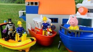 getlinkyoutube.com-Long Fireman sam Episodes Fire engines peppa pig thomas and friends Feuerwehrmann Sam