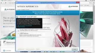 getlinkyoutube.com-AutoCAD 2016 Kurulumu Nasıl Yapılır?