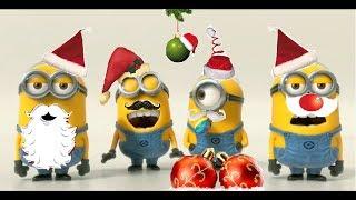 getlinkyoutube.com-Minions For Christmas!!!