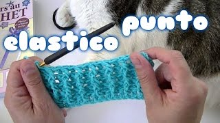 getlinkyoutube.com-Como hacer el punto elastico o puño a ganchillo o crochet facil💞💞