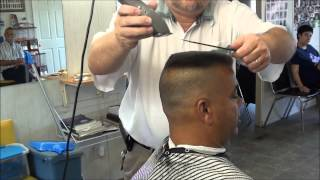 getlinkyoutube.com-MILITARY FLATTOP SHAVED SIDES CHECK IT OUT !!!