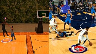 RUSSELL WESTBROOK CHALLENGED FREDDY TO A MYCOURT 1V1! EXPOSING WESTBROOK ANKLES! - NBA 2K17 MyCAREER