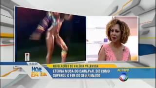 getlinkyoutube.com-hoje em dia Valéria Valenssa conta como se sentiu ao perder o posto de globeleza 11 02 2015 mircmirc