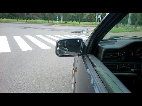 Разбираем внутренности бокового зеркала Volvo.