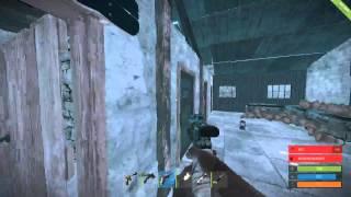 getlinkyoutube.com-Rust - No Explosives RAID - Only Jumping - Dumb Base 2