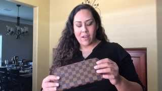 getlinkyoutube.com-Louis Vuitton Unboxing 2!!  Insolite Wallet and Key Holder!
