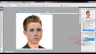 getlinkyoutube.com-13- شرح تركيب وجه مكان اخر | دورة برنامج تعديل الصور وأيضا برنامج تركيب الصور | الفوتوشوب
