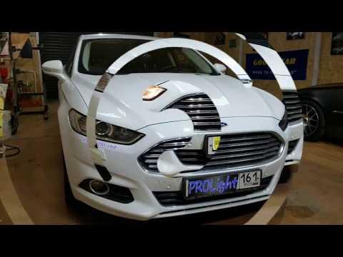 Ford Mondeo. А новый мондео сможет предложить такой шикарный свет? Hella 3R Ultimate