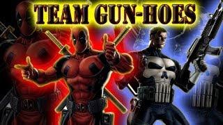 getlinkyoutube.com-Marvel Avengers Alliance PVP Teams - Team Gun-Hoes