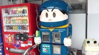 getlinkyoutube.com-Ninja Jajamaru Popcorn Machine Blue ~ 忍者じゃじゃ丸 ポップコーンマシン