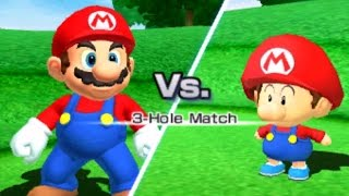 Mario Sports Superstars - Golf - Mushroom Cup