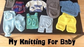 getlinkyoutube.com-Free Baby Knitting Patterns; Wool Soaker, Clothing, and Newborn Photo Props