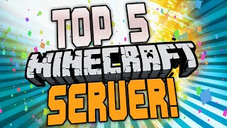 TOP 5 Minecraft SERVER - CraftingPat