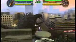 getlinkyoutube.com-Godzilla Save The Earth: Godzilla 90's Gameplay