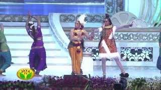 getlinkyoutube.com-Actress Shobana Performing Bharatham In 100 Year Indian Cinema Celebration