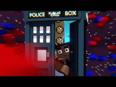 The Doctor visits Minecraft in