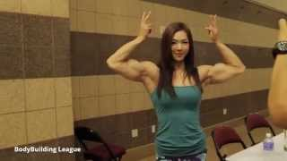 getlinkyoutube.com-Yeon Woo Jhi - 2014 Olympia - Meet the Olympians ( athletes )
