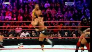 WWE Royal Rumble Match 2011 Highlight
